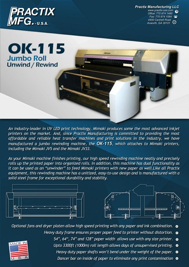OK-115 – Practix Manufacturing